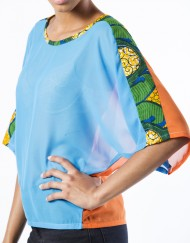 Blouse africaine  Ajepomaa
