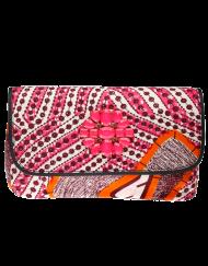 Doreen Mashika  Pink Bahati sac en wax 1