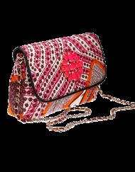 Doreen Mashika  Pink Bahati sac en wax 3