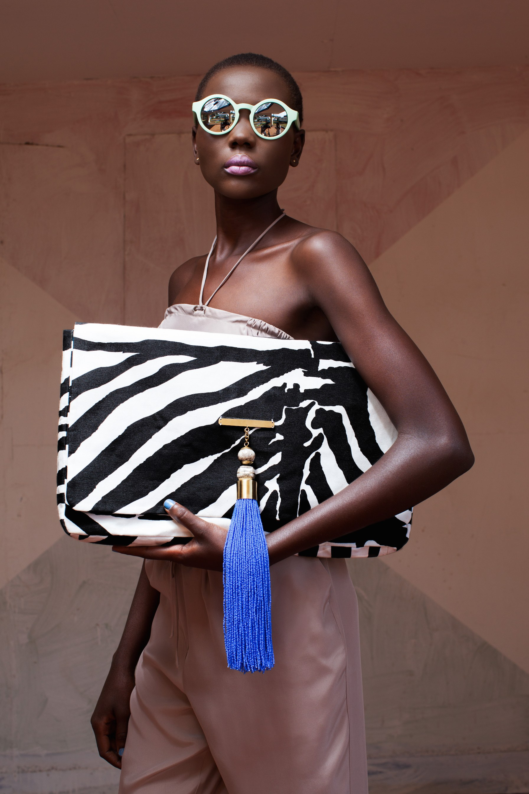 Doreen Mashika zebra bag - copie