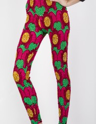 DELLALI Wax Prints leggings Pink